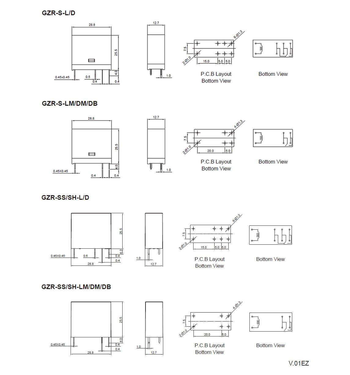 GZR Relay Goodsky Relay Manufacturer - Goodsky spdt relay datasheet