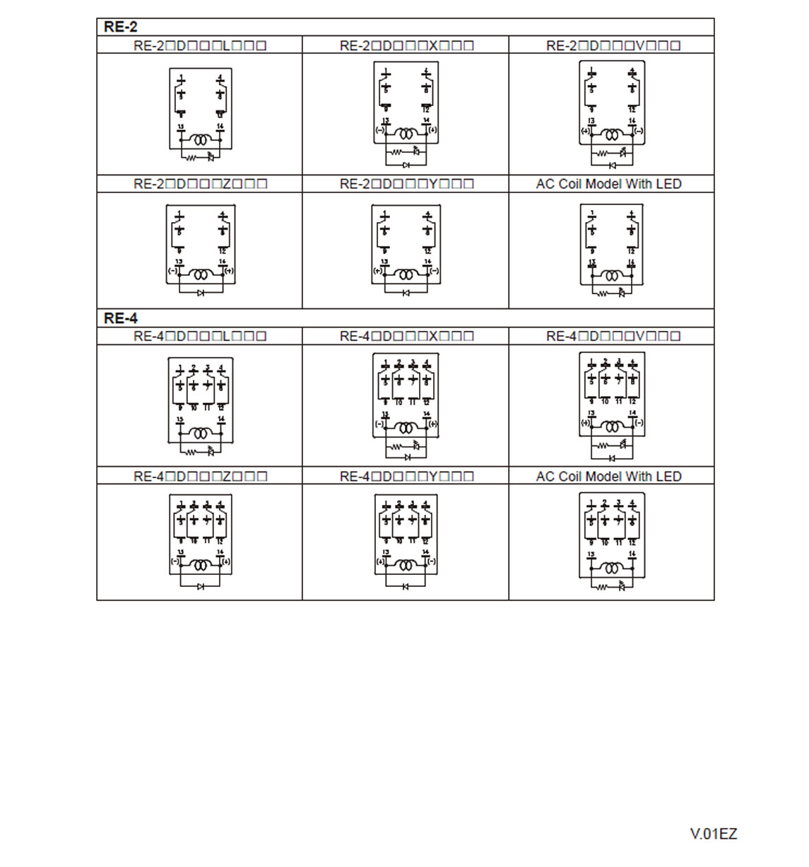 Re Relay Goodsky Manufacturer 4pdt Wiring Diagram Diagrams Wir Tags Dpst 2a 2bdpdt 2c4pdt 4c5adc 6vdc 12vdc 24vdc 48vdc 60vdc 110vdc 120vdc 220vdc 240vac 230vre